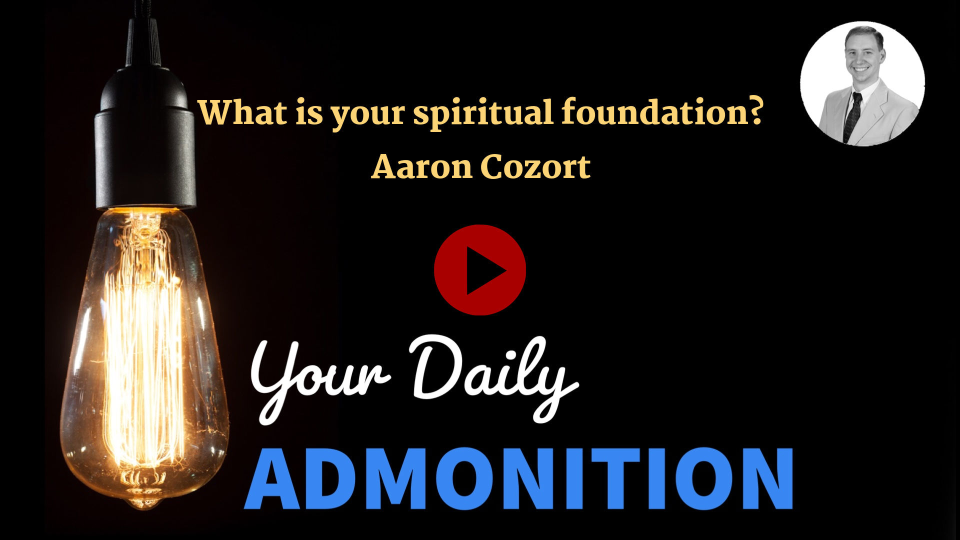 """Featured image for """"What is your spiritual foundation? – ep 3"""""""