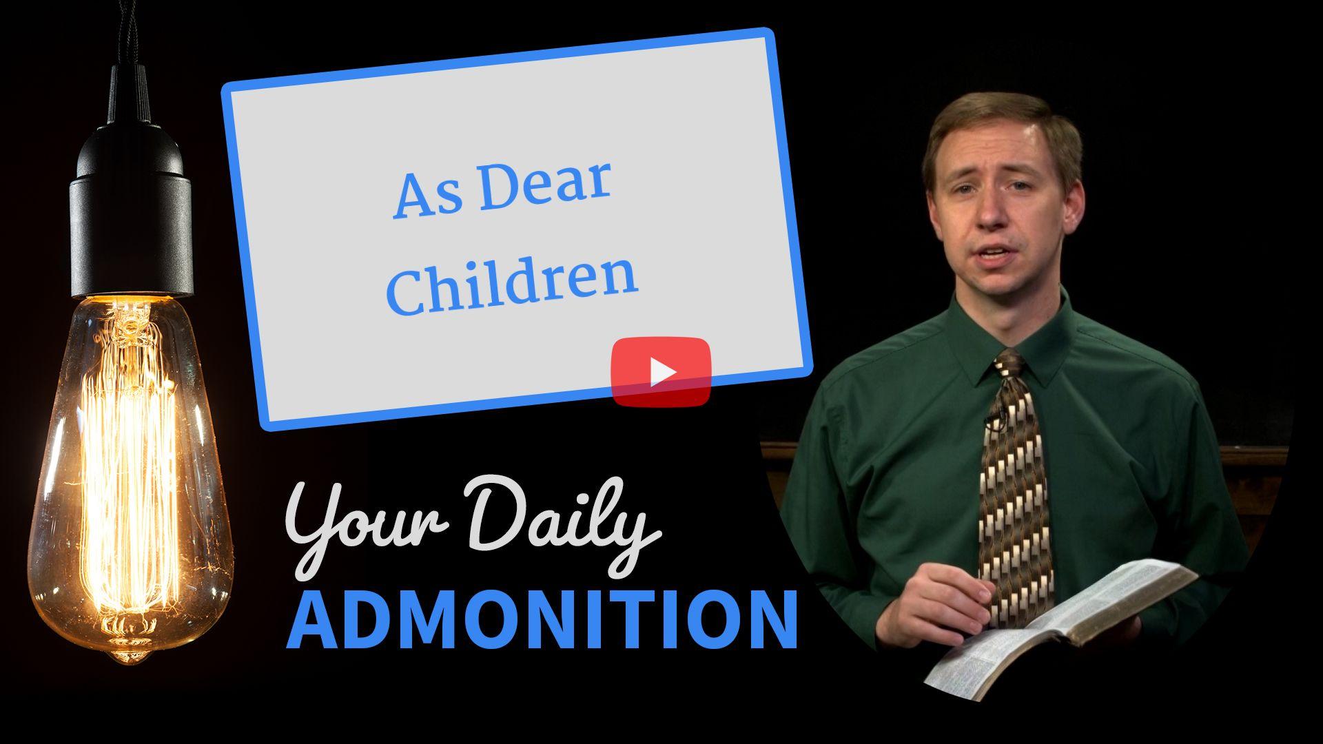 As Dear Children