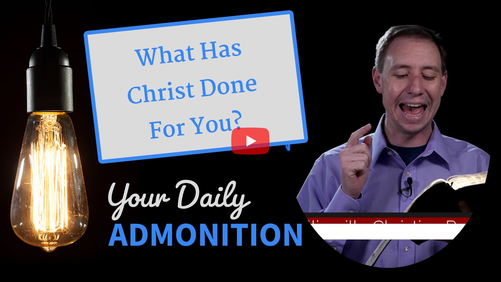 """Featured image for """"What Has Christ Done For You?"""""""