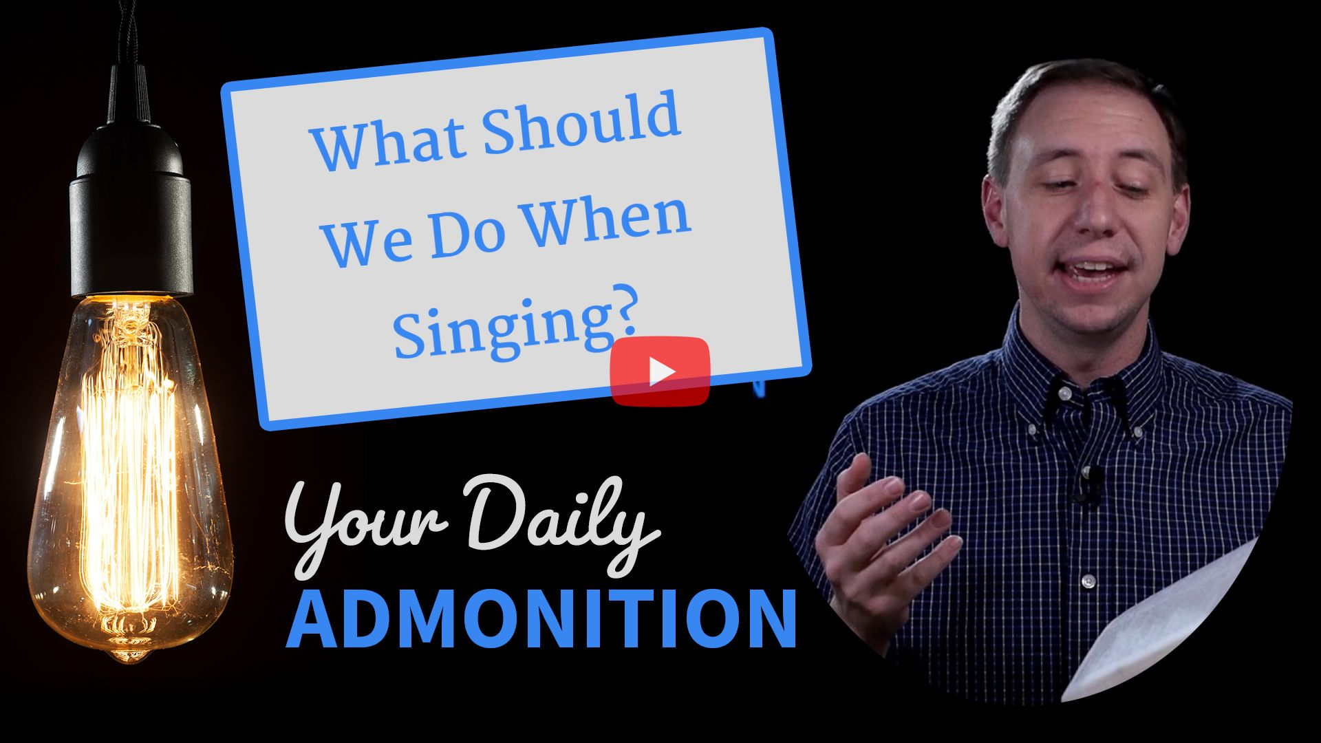"""Featured image for """"What Should We Do When Singing?"""""""