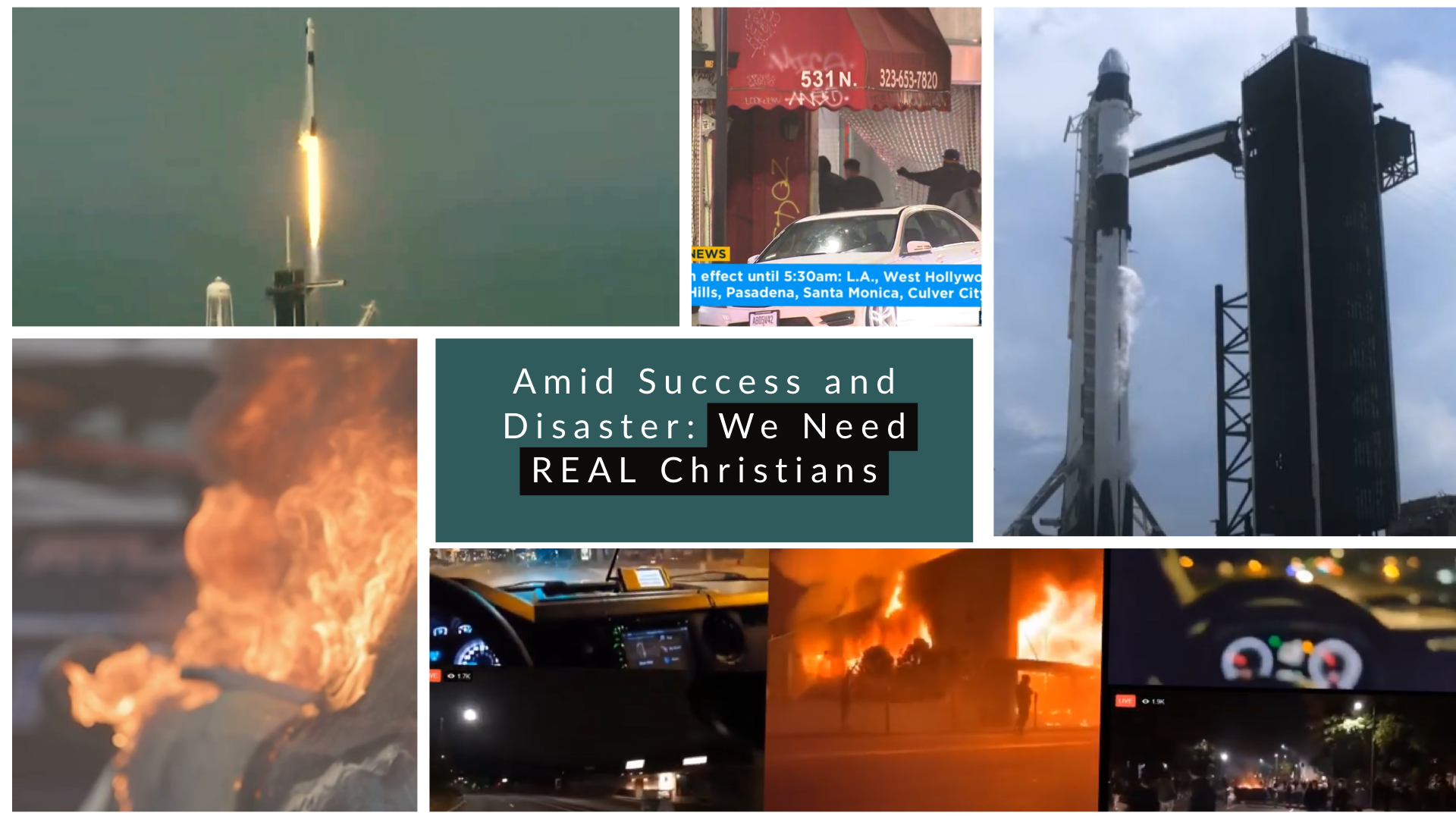 """Featured image for """"Amid Success and Disaster, We Need REAL CHRISTIANS"""""""
