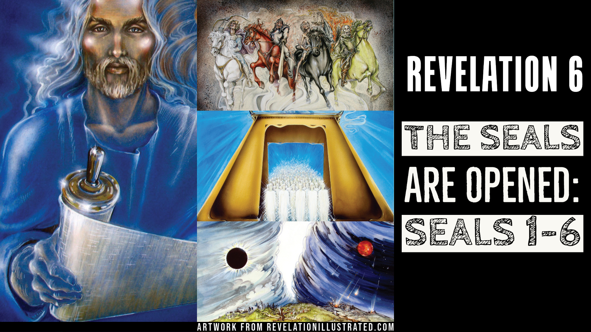 Revelation 6 - The Seals are Opened (Class) - 09/09/2020 - Collierville  church of Christ