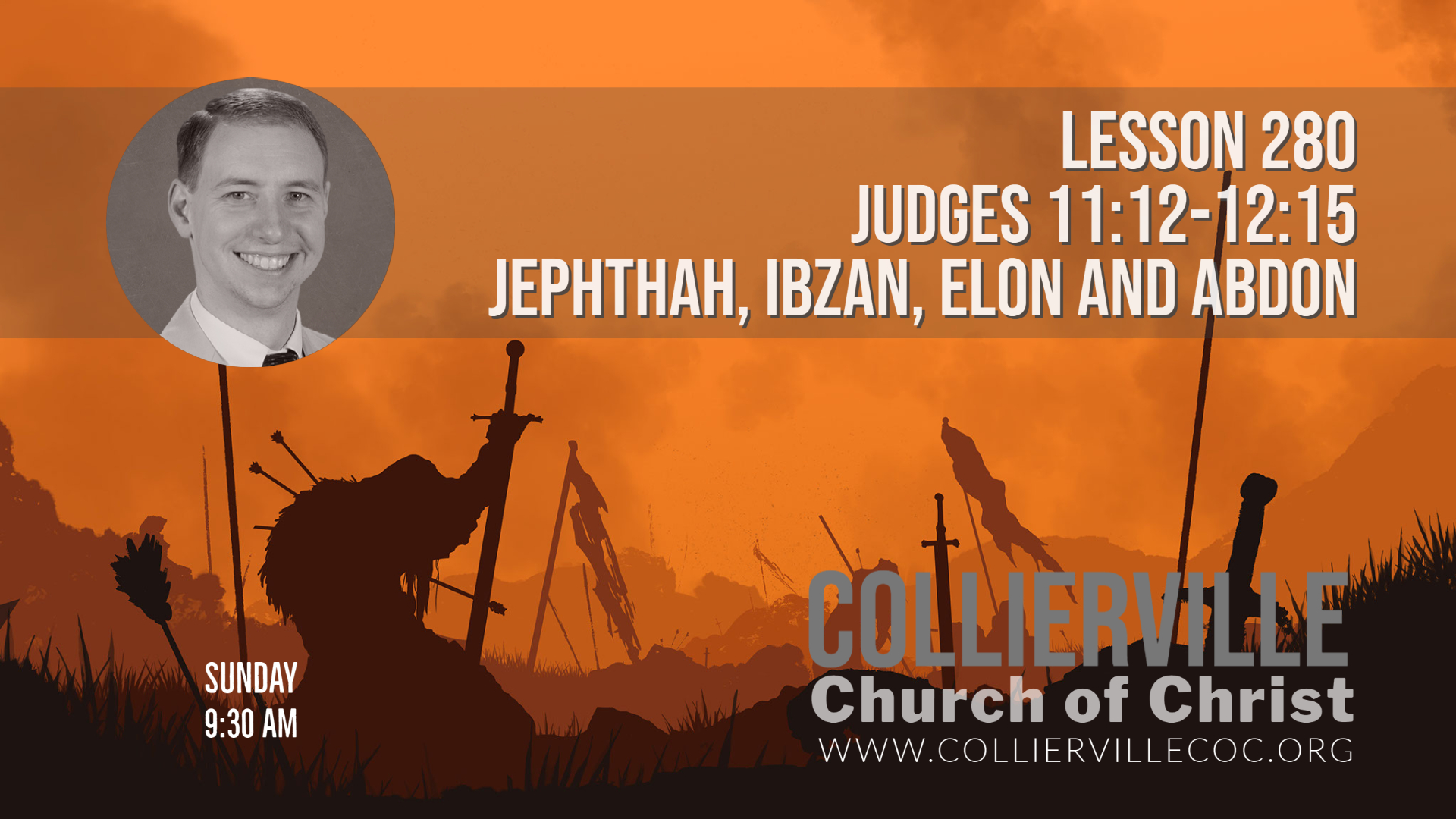 """Featured image for """"06-06-2021 – Live Stream – Judges 11:12-12:15 (Class) & Jesus: A Faithful Witness (AM Sermon)"""""""